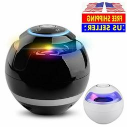 Mini Portable LED Bluetooth Speaker Wireless Super Bass For