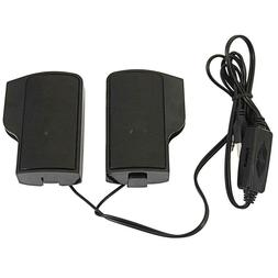Mini Wired USB Power Computer Speakers Stereo 3.5mm Jack For