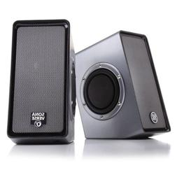 GOgroove SonaVERSE O2 USB Multimedia Stereo Speaker with Pow