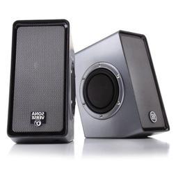 Multimedia 2.0 Desktop Computer Speakers with Passive Subwoo