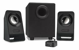 New Logitech Multimedia 2.1 Speakers Z213 for PC and Mobile