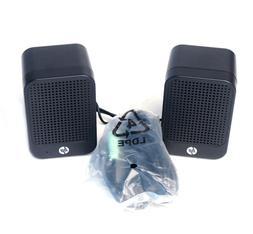 HP Multimedia Computer Speakers 630797-001 USB Powered Deskt