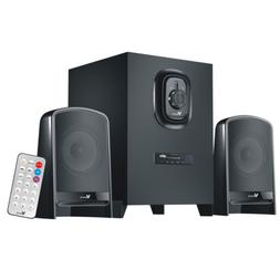 Multimedia Speaker System Subwoofer Bluetooth/USB/FM for PC