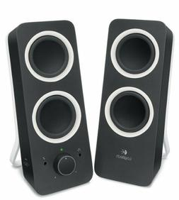 multimedia speakers z200 with stereo sound