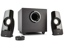 New 2.1 Ch Computer PC Speakers Power Subwoofer Sound System
