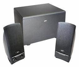 New 2.1 Channel Computer PC Speakers Power Pro Series Subwoo