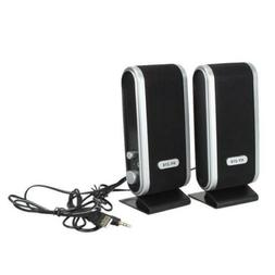 New 6W USB Power Laptop Computer Speaker with Ear Jack  For