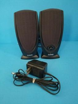 New Dell A215 Black Multimedia 2 Channel Computer Speakers