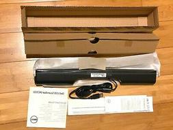 New Dell AC511 Sound Bar Integrated USB Computer PC Monitor
