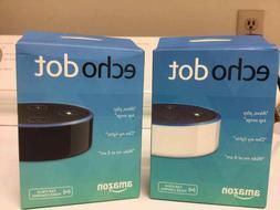 New Amazon Echo Dot 2nd Generation w/ Alexa Voice Media Devi