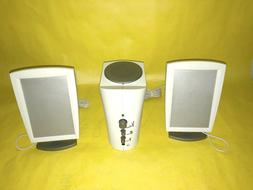 NEW Flat Panel Picture Frame 2.1 Speakers with Subwoofer for