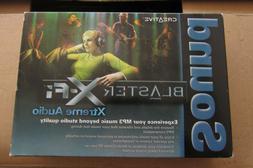 NEW Creative Labs Sound Blaster X-FI Xtreme Audio PCI Sound