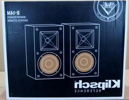 NEW PAIR KLIPSCH R-14M REFERENCE SERIES BOOKSHELF SPEAKERS s