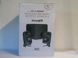 NEW Klipsch ProMedia 2.1 THX Certified Speaker System PC Sub