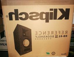 NEW Klipsch Reference RB-61 II Bookshelf Black speakers - Pa