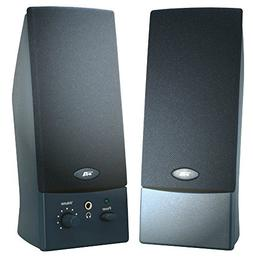 CYBER ACOUSTICS OEM BLACK 2PC 3W SPEAKERS