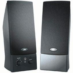 Cyber Acoustics - 2.0 Black OEM USB Speakers