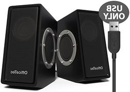 OfficeTec SP212 USB Only Computer Speakers with Digital Soun