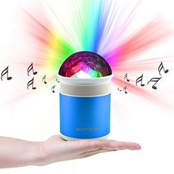 KSING Party Speaker Bluetooth with Colorful LED Light, Wirel