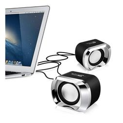 PC Computer Speakers Portable Mini USB Small Stereo Sound TV