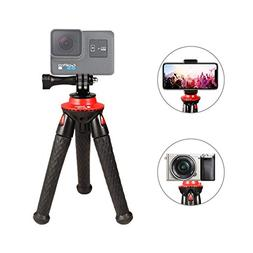 Phone Tripod, Fotopro Flexible Mini Tripod Bluetooth Remote