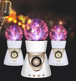 HIOTECH Portable Bluetooth Speaker, Electrostatic Plasma Bal