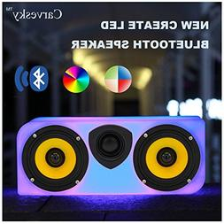 Portable Bluetooth Speakers,10 Hours Playtime,10W Wireless O