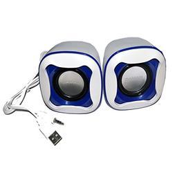 TopePop Portable Mini USB Powered Computer Speaker Stereo Ba