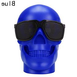 Fashion Portable Skull Head Wireless Bluetooth Speaker Stere