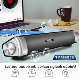 ELEGIANT Portable Stereo Wireless Sound Bar bluetooth Speake