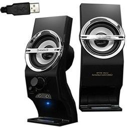 Portable USB Powered Speaker 5W Stereo Sound Music Player De