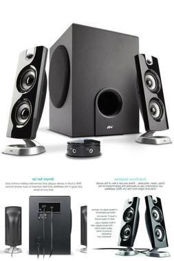 Powered Speakers With Subwoofer For PC Gaming Wireless Lapto