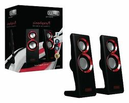 Sweex Purephonic Speakers 2.0 Wired USB 2x 1 W Red Laptop PC