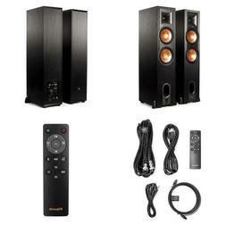 Klipsch R-28Pf Surround Powerful Floor Standing Home Speaker
