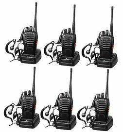 Arcshell Rechargeable Long Range Two-Way Radios with Earpiec