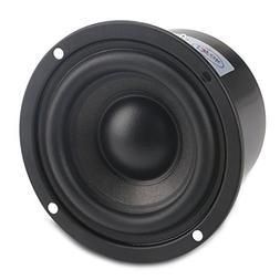 DROK 25W 3 Inch Round Shape Woofer Speaker Stereo Loudspeake