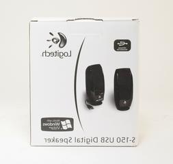 Logitech S-150 USB Digital Multi-media PC Computer Speaker;