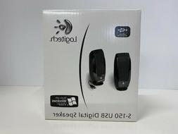 Logitech S150 Digital USB Speakers - for PC - New