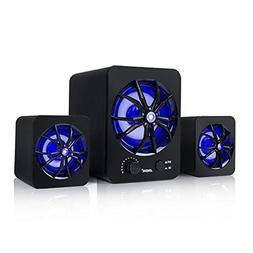 Docooler SADA D-207 Mini RGB Computer Speaker USB Wired Comb