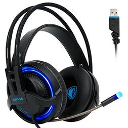 Sades R2 Gaming Headset Virtual 7.1 Channel Surround Sound S