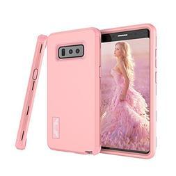 Samsung Galaxy Note 8 Case, SUMOON  Hybrid Heavy Duty Three