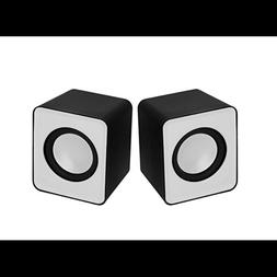 small desktop computer speakers usb multimedia stereo