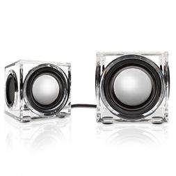 SonaVERSE CRS 2.0 USB Powered Speakers w/ Clear Acrylic Hous