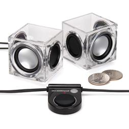 sonaverse crs clear cube usb powered wired