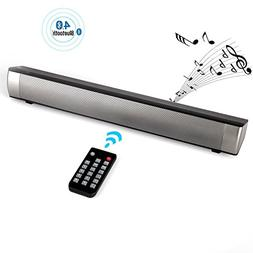 Sound Bar,2.1 Channel 10W Wired and Wireless Bluetooth 4.0 A