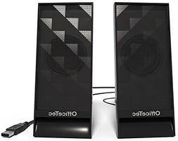 OfficeTec SP313 USB Only Computer Speakers with Digital Soun