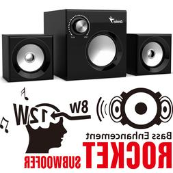 Genius Speaker SW-2.1 370 - 2.1 Channel Bass and Stereo Surr