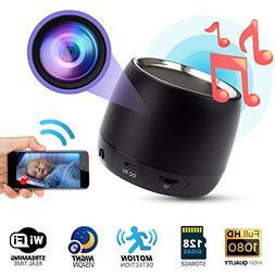 Spy Hidden Camera 1080p WIFI, Night Vision, Bluetooth Speake