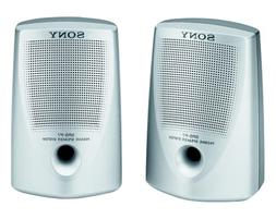Sony SRS-P7 Passive Speaker System with Stereo Mini-Plug Inp
