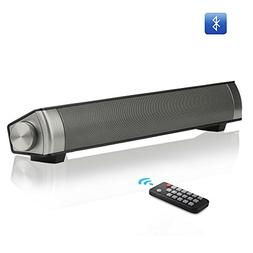Tv soundbar wireless bluetooth speaker sound bar with subwoo